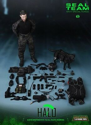 Mini Times toys M013 1//6 Scale Seal Team Six-Halo Body /& Hands Model