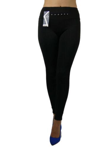 Thermiques Femmes leggins chaud hiver épais Badware Slim Look Haut Talon T 38-40