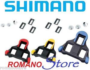 4d8e8403c06 TACCHETTE PEDALI SHIMANO ROAD CLEATS ORIGINAL SM-SH10 SM-SH12 SM ...