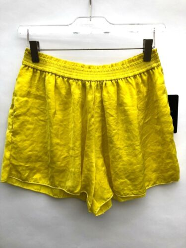 Ref Zara 3658 Fluo S Giallo Taglia Shorts 022 W6TXg6n