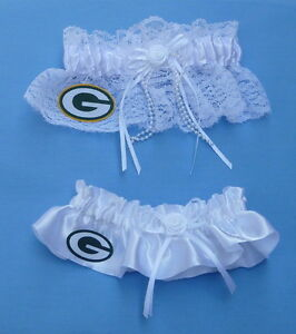 Green Bay Packers football garter