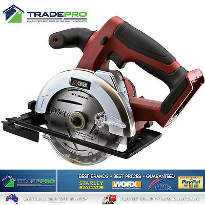 Circular Saw 18v Xceed® Cordless Lithium Mitre Cut Off 136mm with Bonuses