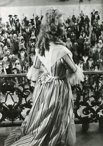 "Actrice Michèle Morgan dans ""Marie-Antoinette"", 1955, vintage silver print vinta"