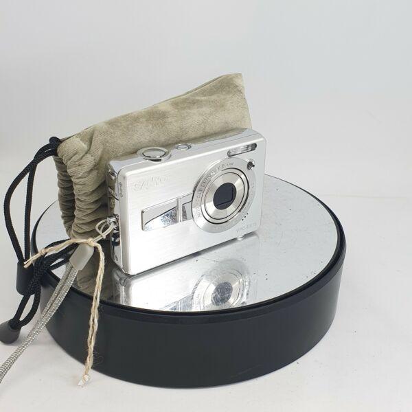 à Condition De Sanyo Vcp-e875 Argent Appareil Photo Numérique 8.1 M. P-caméra Seulement - #705