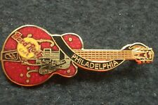 HRC Hard Rock Cafe Philadelphia Red dead Eddie Cochran Guitar XL Fotos