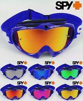 SPY OPTICS TARGA 2 ALLOY Motocross MX OCCHIALI blu con GOGGLE SPECCHIETTO LENTE