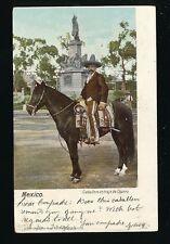 Mexico Caballero en traje de Charro 1906 u/b PPC