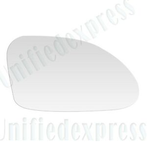 Fits 90-94 MAZDA 323 MANUAL LEFT DRIVER SIDE VIEW~MIRROR-GLASS+ADHESIVE PAD