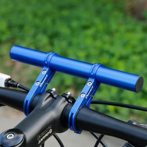 Bicycle Handlebar Extended Bracket Headlight Mount Bar Computer Holder Lamp 20CM