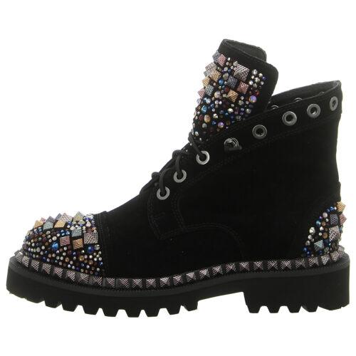 schwarz ALMA EN PENA Schuhe Stiefelette 120534 black NEU