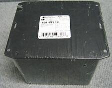 HAMMOND MANUFACTURING 1591VFLBK PLASTIC ENCLOSURE FLANGED LID BLACK