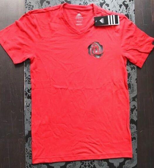 Adidas camiseta hombre NBA Derrick Rosa Rojo Rojo Rojo talla S nuevo con etiqueta 4f4833