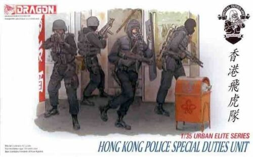 1:35 Dragon #6503 Hong Kong Police Special Duties Unit