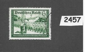 2457-Used-stamp-1939-Hitler-039-s-culture-fund-Third-Reich-WWII-Germany
