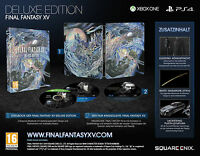 Xbox One Final Fantasy Xv 15 Ff Deluxe Edition Neu&ovp Paketversand