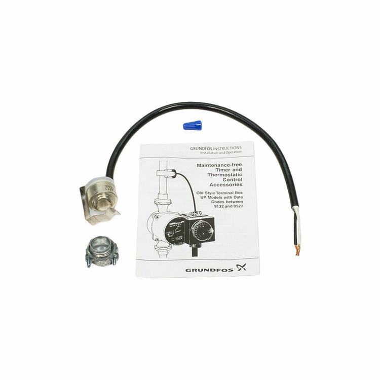 Grundfos 595444 3//4-Inch Clip-On Aquastat Control