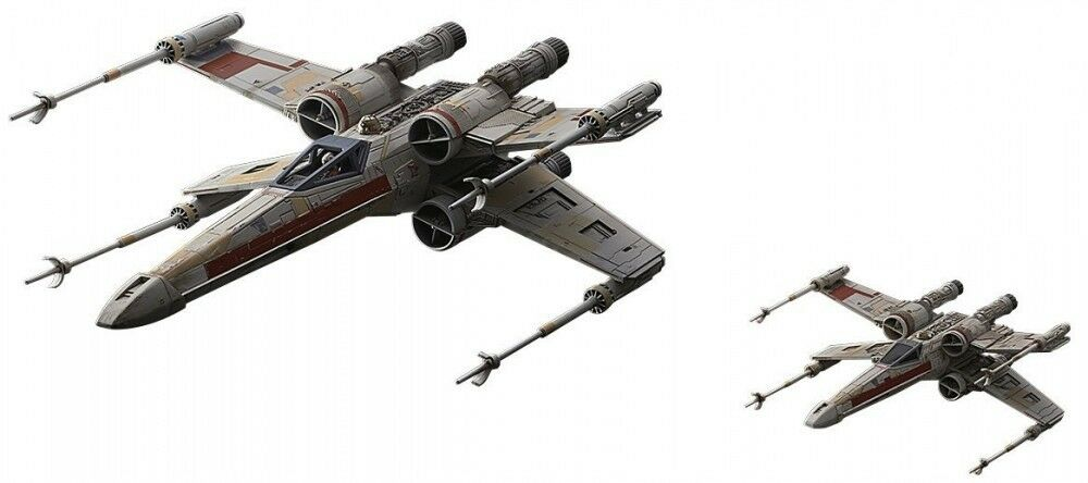 New Star Wars X Wing Star Fighter Red Squadron Special Set 1 72 and 1 114