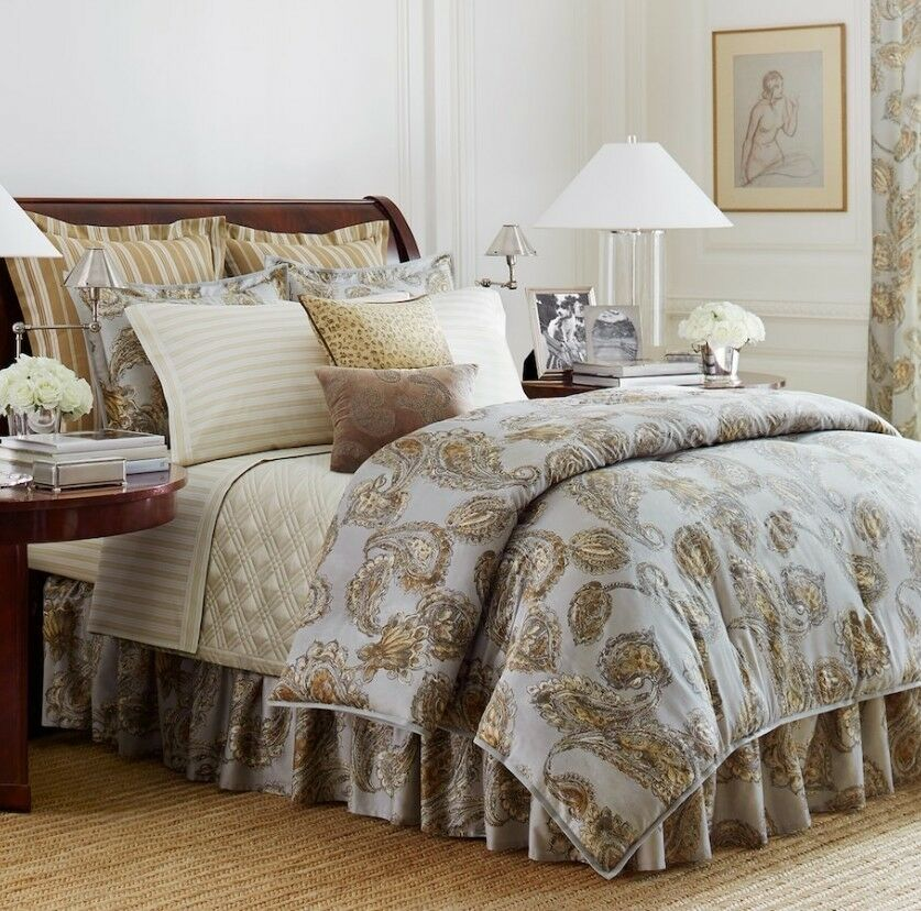 Chaps Home COLD SPRING 4PC QUEEN Comforter Set