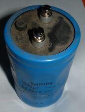 Philips  1000uf 385V screw terminal capacitor 2222-115-18102 Mullard 115 series