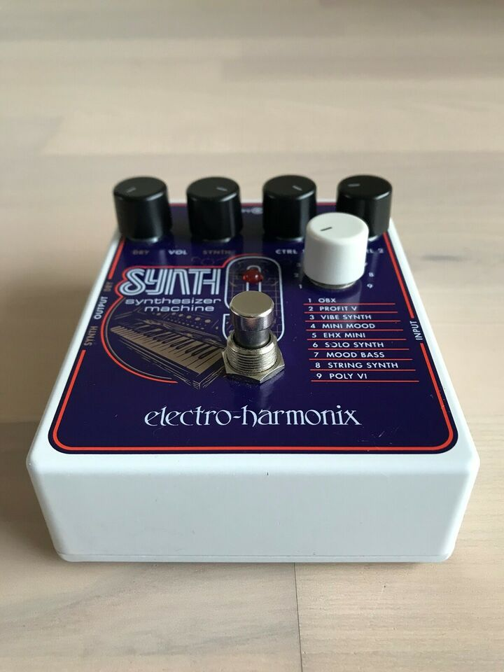 Synth-pedal, Electro Harmonix Synth9