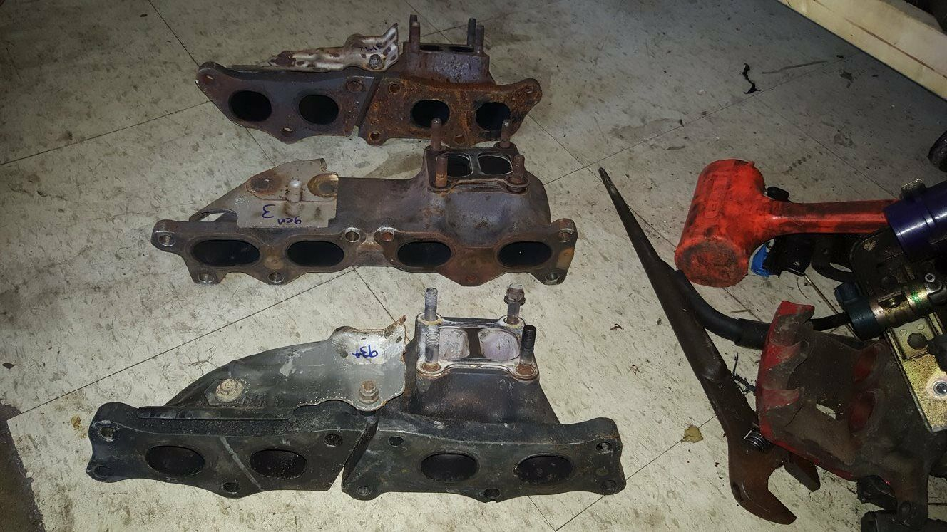 19911992, 1993,1994 Exhaust uomoifolds 3SGTE 2.0L giocattoloota MR2