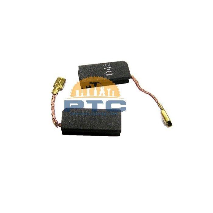 2x schleifkohlen per Bosch 1617014134 1607000490 1617014127//Motore Carbone 5x8mm