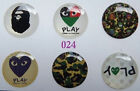 New 6 X Home Button Sticker For Apple iPhone 4G 4S 3G 3GS iPad iPod Touch Series