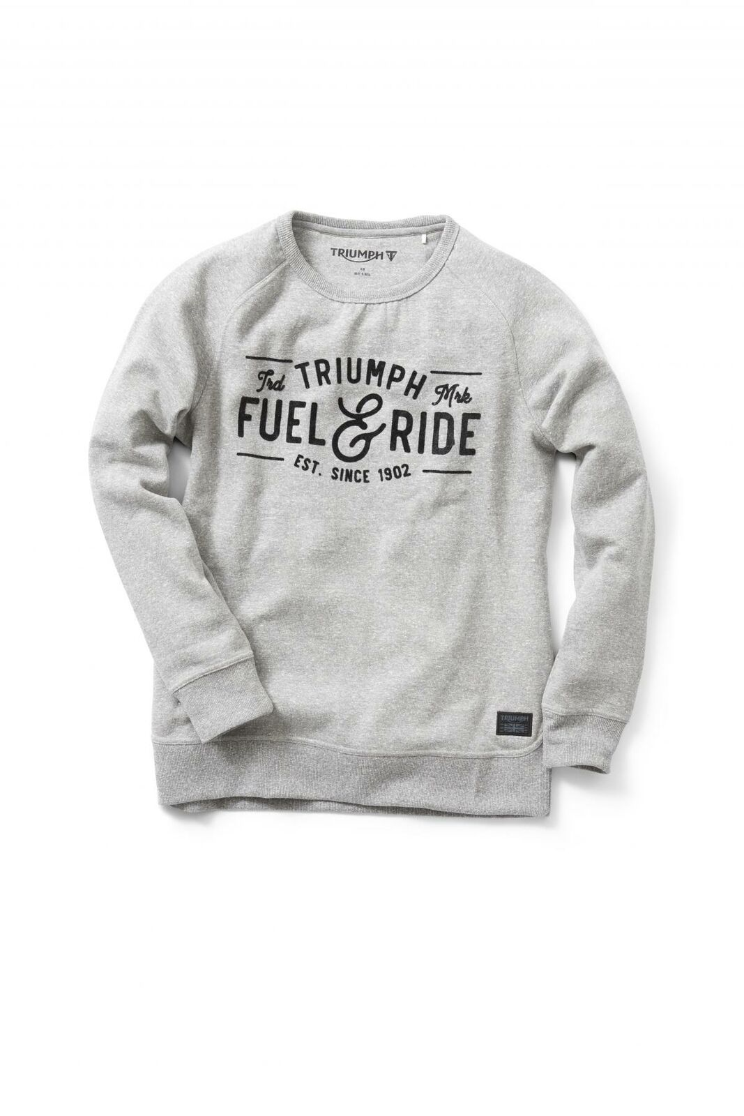 Triumph Motorcycles Dermot Sweatshirt grau grau grau 224310