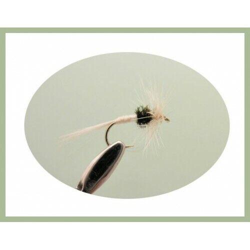 8 x Antonia caenis Dry Fly Misto Taglia 12 a 18 Mosche mosche secca Pesca Alla Trota Mosche