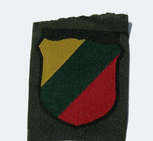 German WW2 Lithuanian sleeve shield