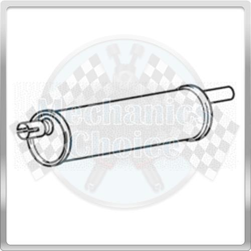 11//89-05//96 Centre Exhaust Silencer Section for Iveco Daily 2.5