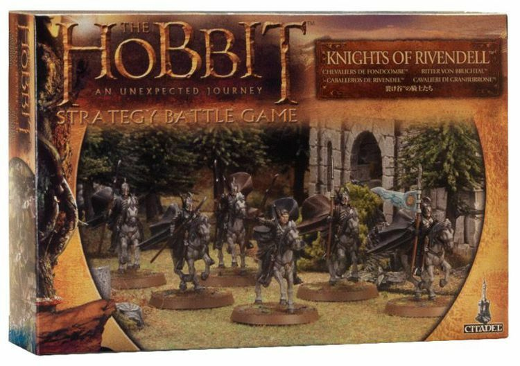 Hobbit Knight from Bruchtal Games Workshop Lord of the Rings Knights Of