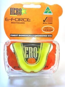 EXTREME MOUTH GUARD  SENIOR JUNIOR  GEL GUM SHIELD BOXING RUGBY  IMPACT PROTECT
