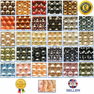 Swarovski-Crystal-Pearls-Beads-5810-Round-All-Colours-amp-Many-Sizes