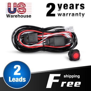s l300 nilight wiring harness kit 2 leads for off road led light bar nilight wiring harnesses at fashall.co