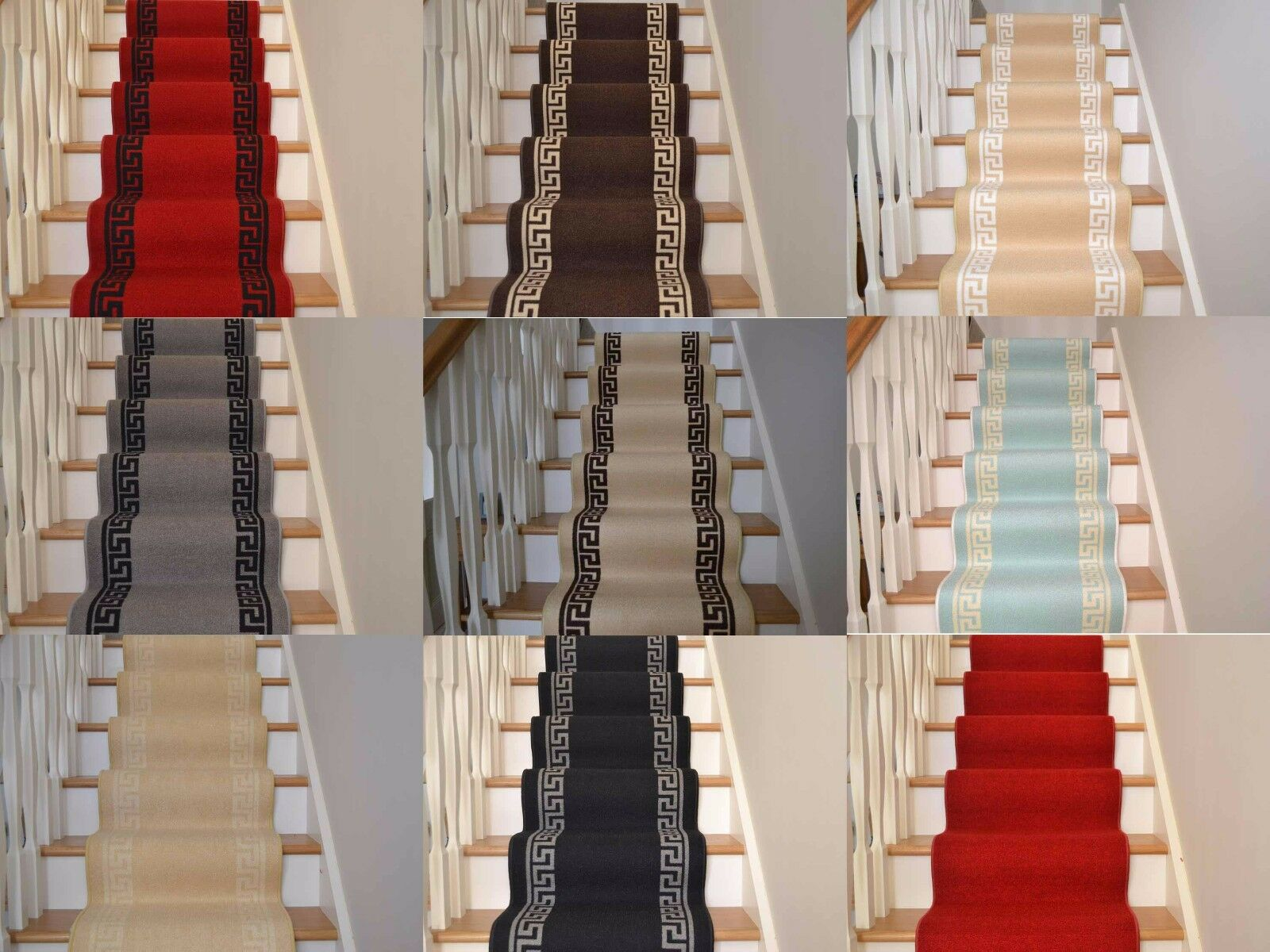 New Very Long Narrow Thin Stairway Staircase Carpet Runner