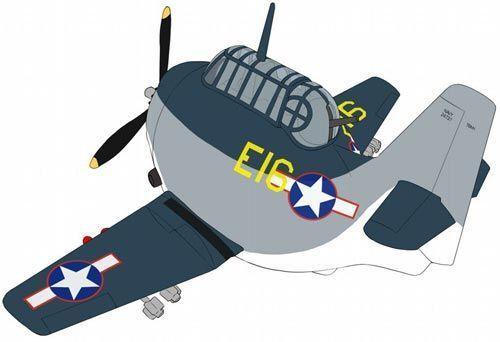HASEGAWA-GRUMMAN TBM/TBF Avenger œuf avion # TH28