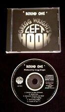 1995 GREGG WRIGHT SIGNED- LEFT HOOK UK CD MICHAEL JACKSON JIMI HENDRIX STEVE VAI