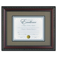 Dax World Class Document Frame W/cert Walnut 11 X 14 8 1/2 X 11 N3245s2t on sale