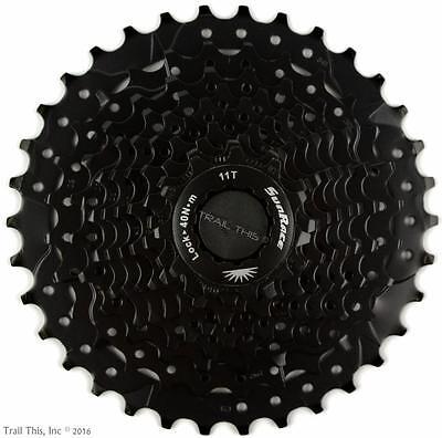 SRAM Black Sunrace CSMS1 11-34 10-Speed MTB Bike Cassette 11-34T fit Shimano