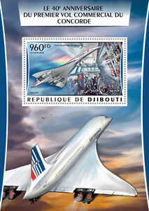 Djibouti-2016-neuf-sans-charniere-concorde-premier-vol-commercial-1v-s-s-aviation-timbres
