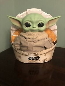 """11/"""" May the 4th Be With You Star Wars Mandalorian /""""The Child//Baby Yoda/"""" Plush"""