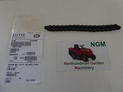 Genuine Hayter Harrier 48 Pro Lawnmower Drive Chain 480209 486A 486C