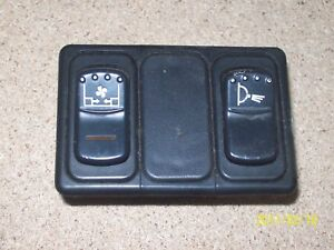 LONDON-TAXIS-LTI-TX1-TX2-REAR-HEATER-AND-LIGHT-SWITCHES