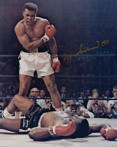 5-Photos-Muhammad-Ali-Preprinted-3-Signed-Autographed-Cassius-Clay-Boxing-Champ