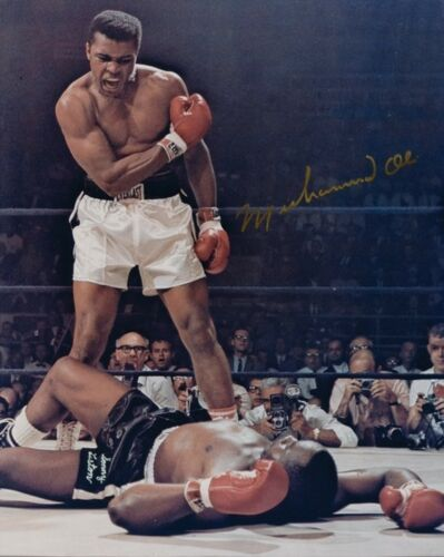 5 Photos Muhammad Ali Preprinted 3 Signed Autographed Cassius Clay Boxing Champ