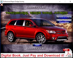 FACTORY SERVICE MANUAL FSM REPAIR MANUAL DODGE JOURNEY 2009