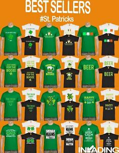 Paddidas St Patricks Day Funny T Shirt Irish Paddy Top Ireland Unisex Leprechaun