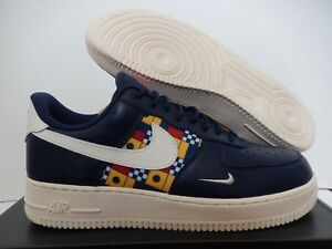 the best attitude d5444 f699b Image is loading NIKE-AIR-FORCE-1-07-LV8-MIDNIGHT-NAVY-