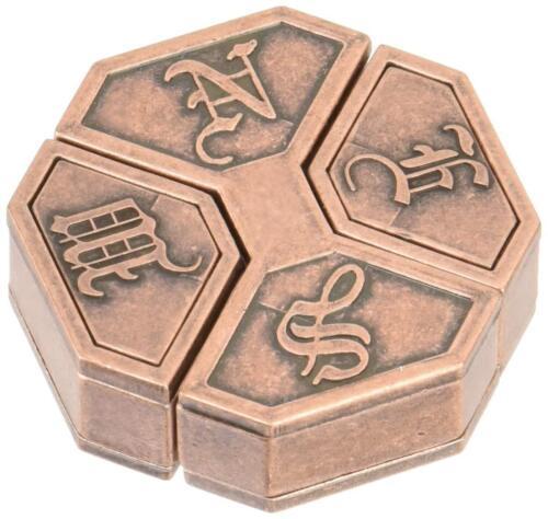 Hanayama Japan Cast Puzzle Huzzle NEWS Level:6